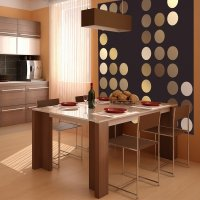 Kuchnia, fototapeta abstrakcyjna